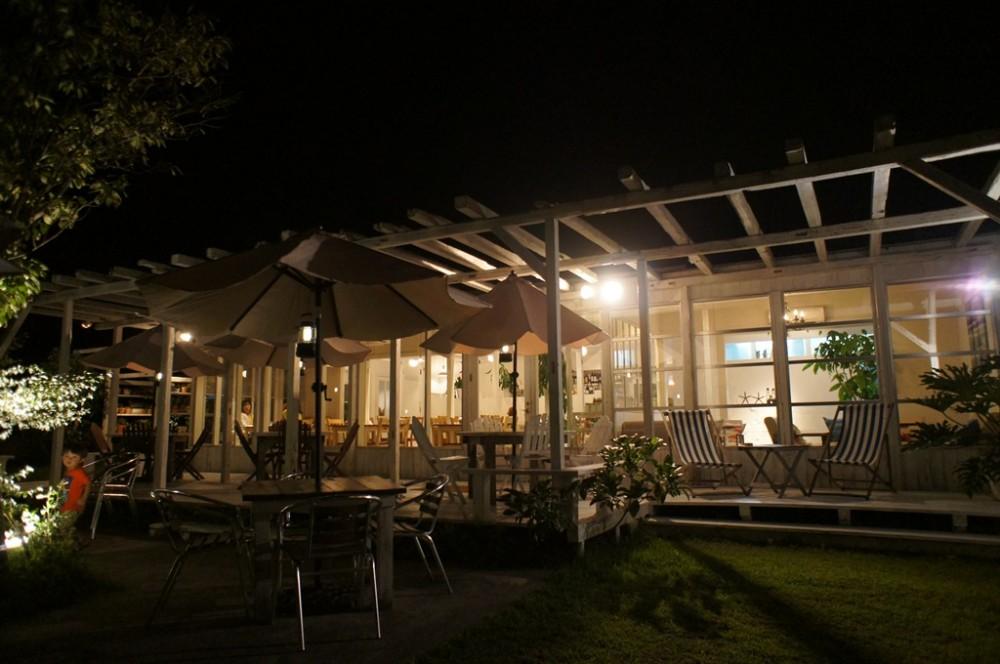 糸島の人気カフェは夜が穴場!?女子会におすすめ海沿いのカフェSUNFLOWER(サンフラワー)CAFE&CASUAL