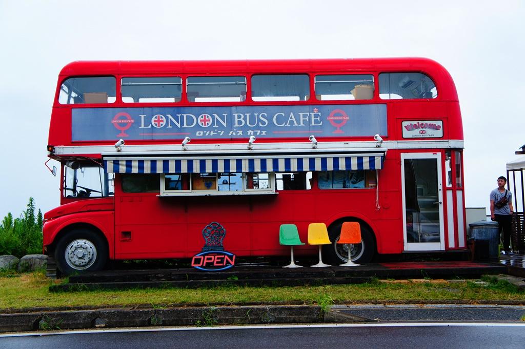 糸島でジェラートが食べれるお店 LONDON BUS CAFE(ロンドンバスカフェ)&旅カフェ