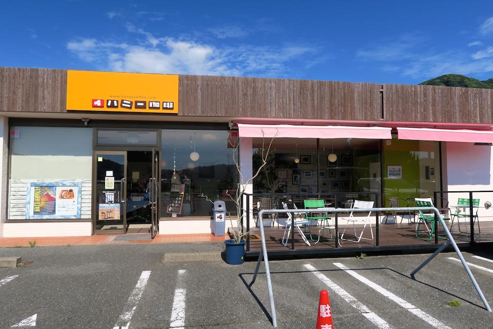 サーファー&ローディ(ロードマン)の休憩所!野北にあるハニー珈琲(コーヒー)糸島店