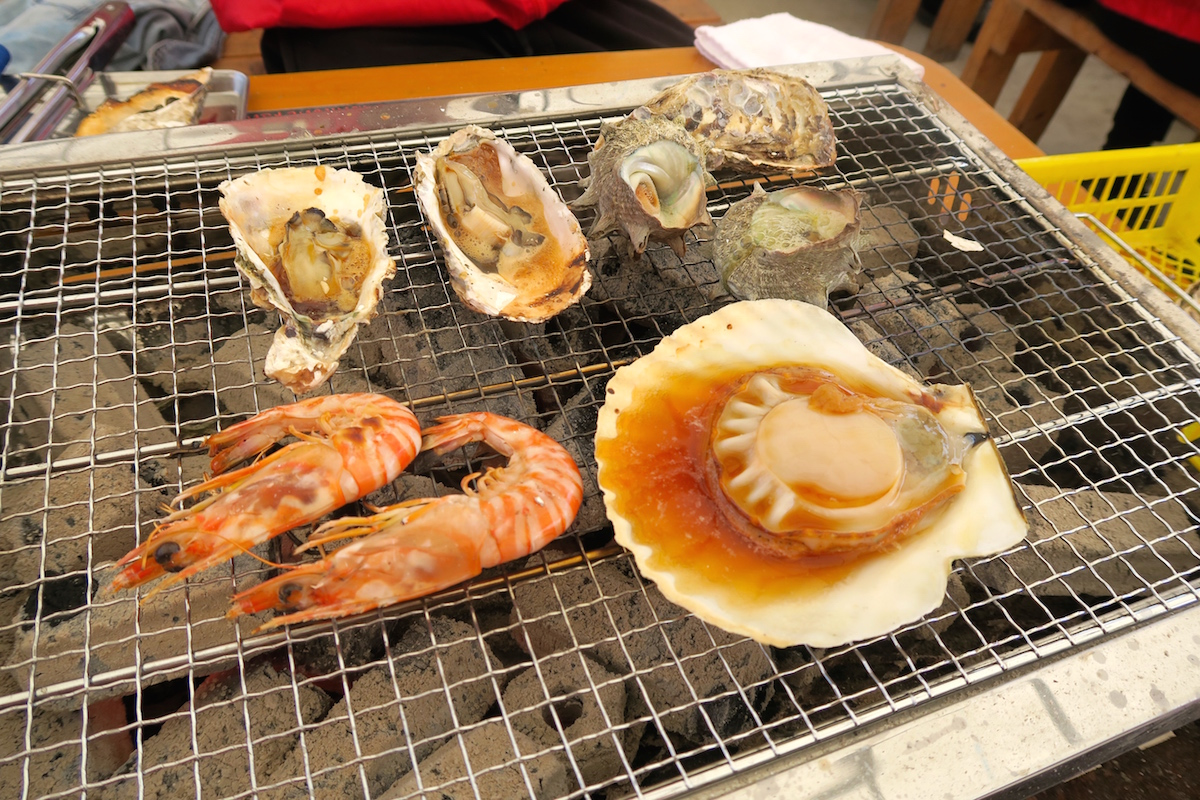 岐志漁港の牡蠣(カキ)小屋 大黒丸が人気でびっくり仰天!@糸島市志摩岐志